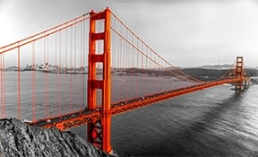 גשר שער הזהב בסן פרנסיסקו, ארצות הברית
