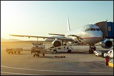 מטוס על הקרקע